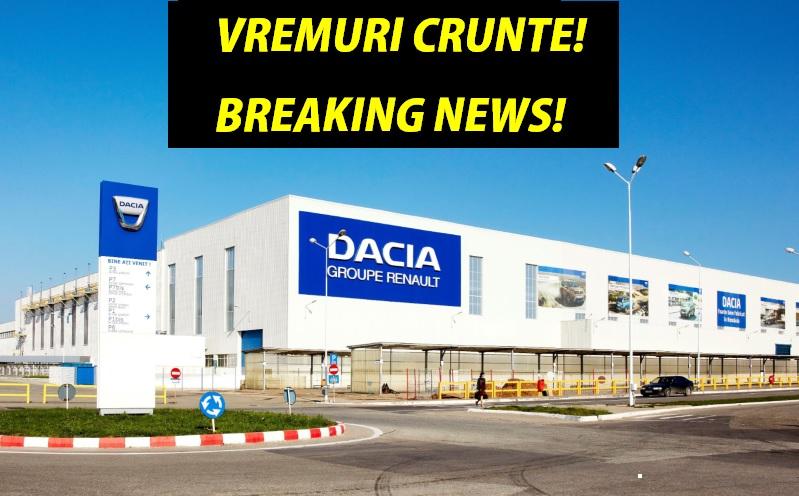 Conducerea Renault nu mai dă înapoi! Veste îngrijorătoare pentru România! News alert