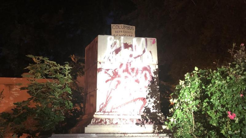 Violențe în America. Statuile lui Cristofor Columb au fost dărâmate