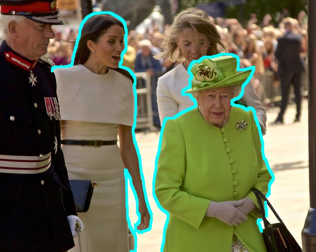 Cum a umilit-o Meghan Markle pe Elisabeta a II-a? Regină vs. ducesă, 0-1