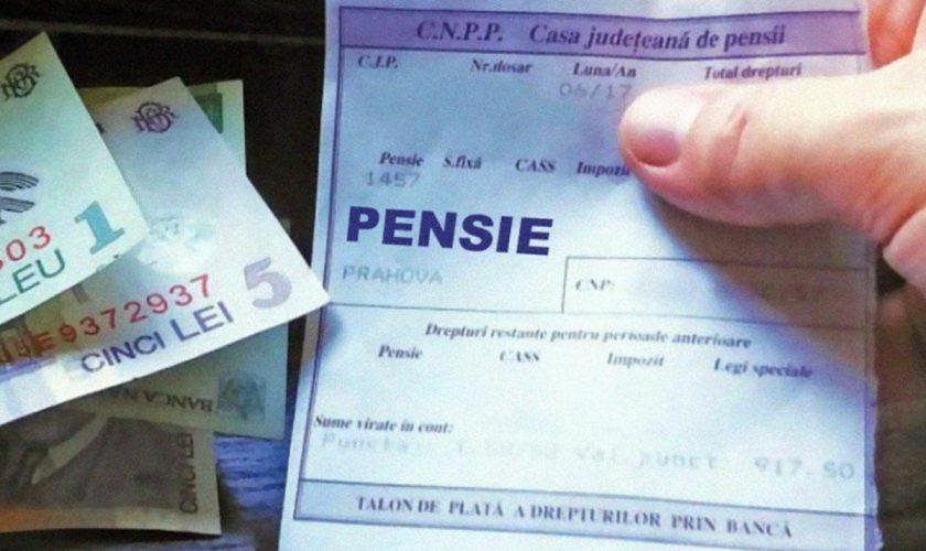 Milioane de pensii, recalculate. Ce se întâmplă cu pensiile sub o mie de lei