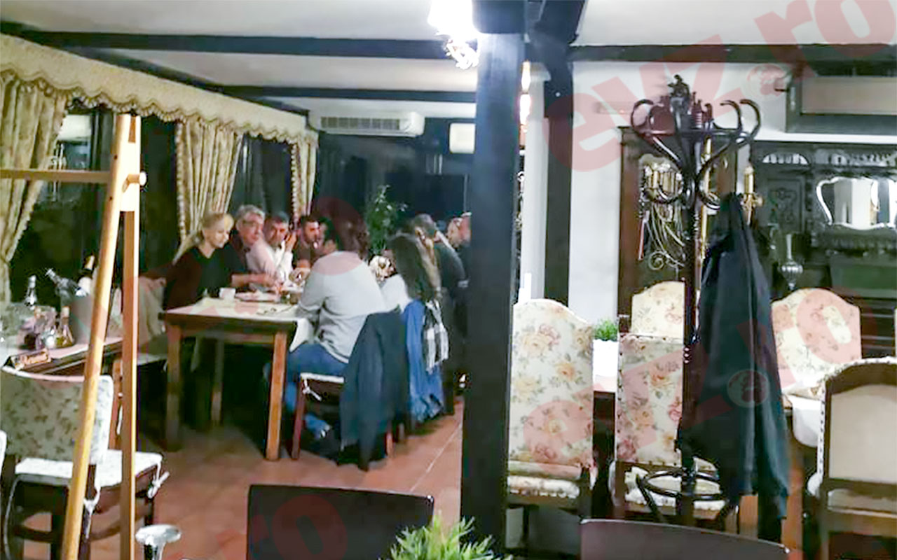 Cum a chefuit Marcel Ciolacu la restaurant, fără distanțare. Imagini exclusive