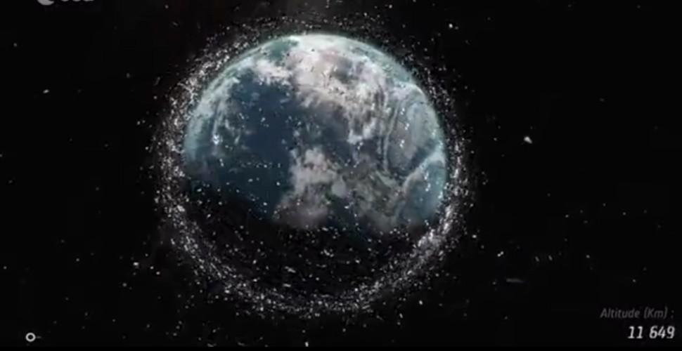 Prăpăd pe cer în noaptea asta! Două obiecte uriase vor intra în coliziune VIDEO