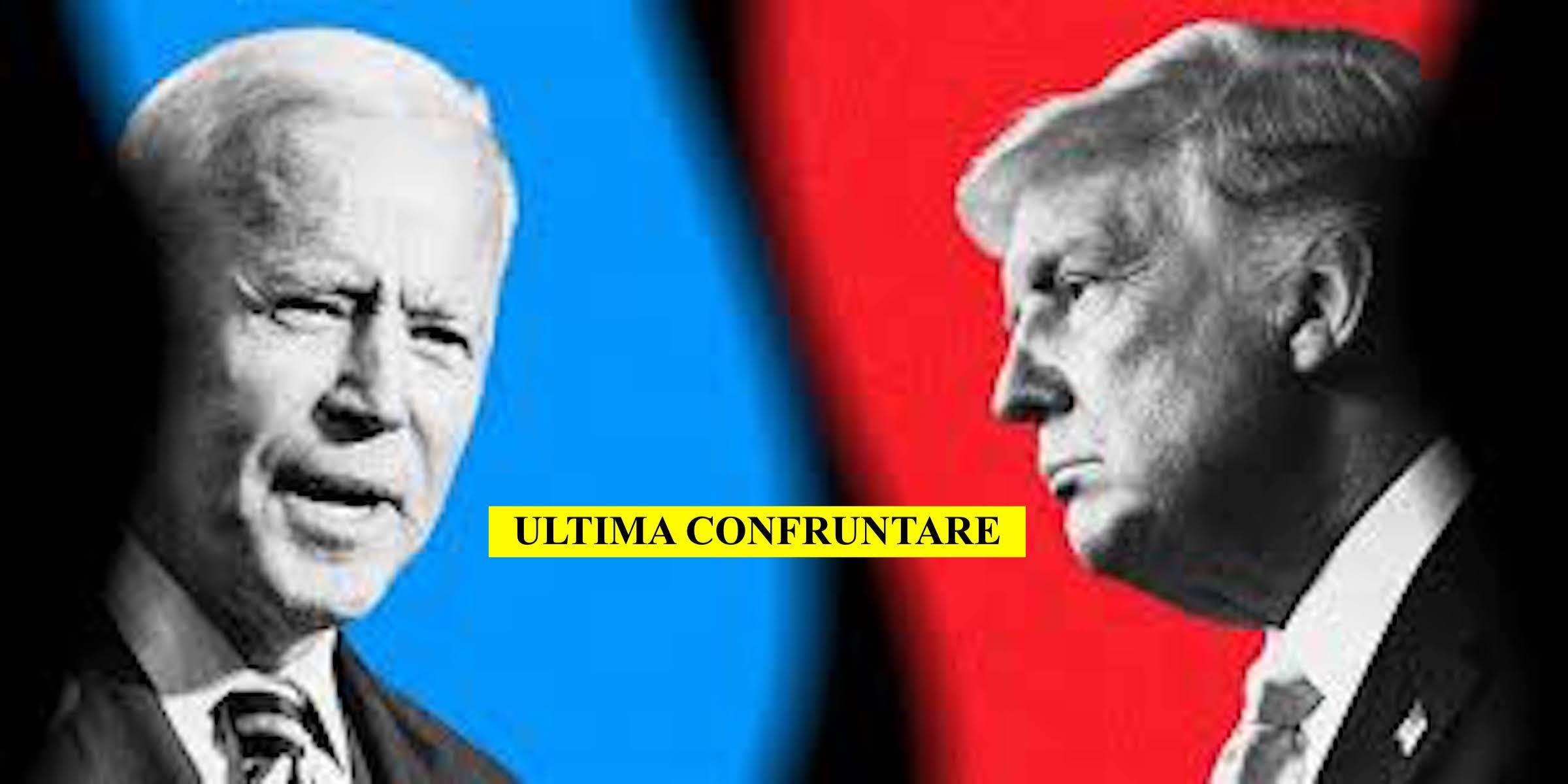 Dezbaterea finală Trump-Biden. Despre vaccinul-minune. Cine a câștigat?